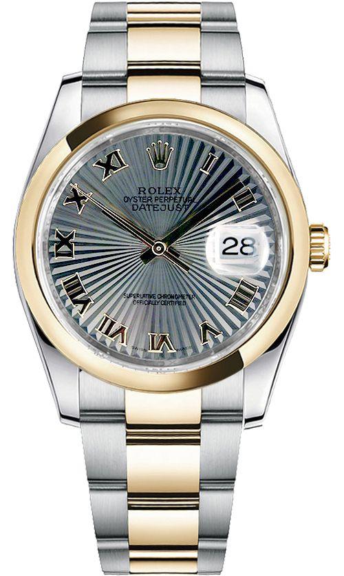 3c1dfc5425ca Rolex Datejust 36 Automatic Gold & Steel Men's Watch 116203 | Men ...