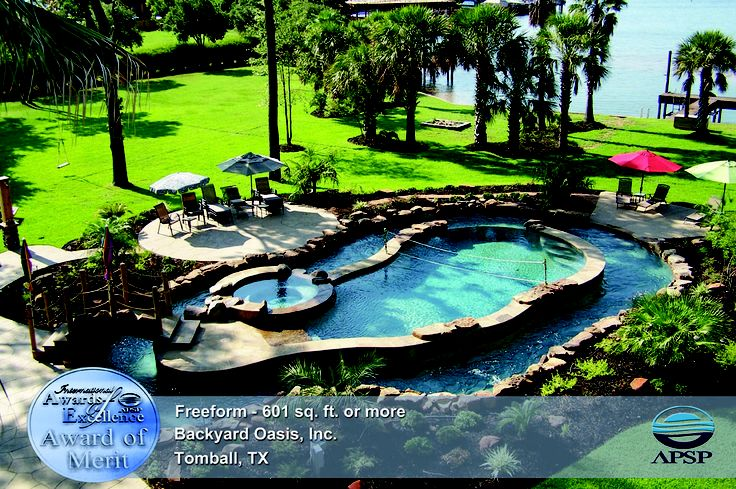Backyard Lazy River Ideas : Rivers, Pools and Backyards on Pinterest