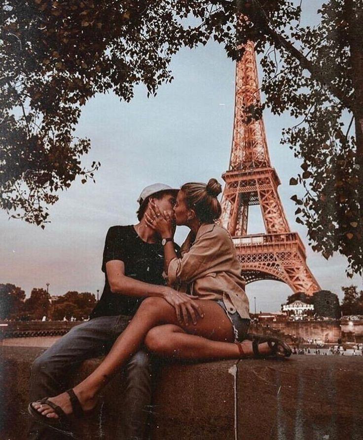 #couple #goals #friendship #love #kissing #paris -…