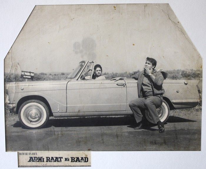 Bollywood has always had a special connection with luxury cars!  Here's for you an old poster of the 1965 movie 'Aadhi raat ke baad' featuring a grand luxury car along with renowned yesteryear actors Ashok Kumar and Ragini!  #bollywood #transportation #care #transport #vintage #carlove #bollywoodlove