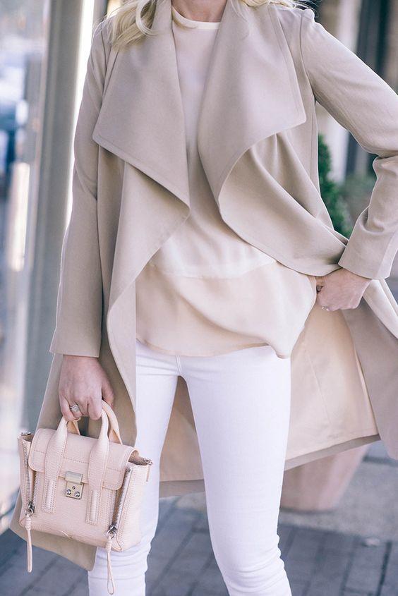 #fall #fashion / cream
