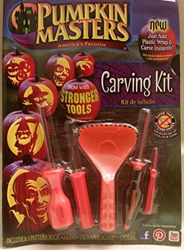 Pumpkin Masters Americas Favorite Pumpkin Carving Kit Now with Stronger Tools @ niftywarehouse.com #NiftyWarehouse #Halloween #Scary #Fun #Ideas