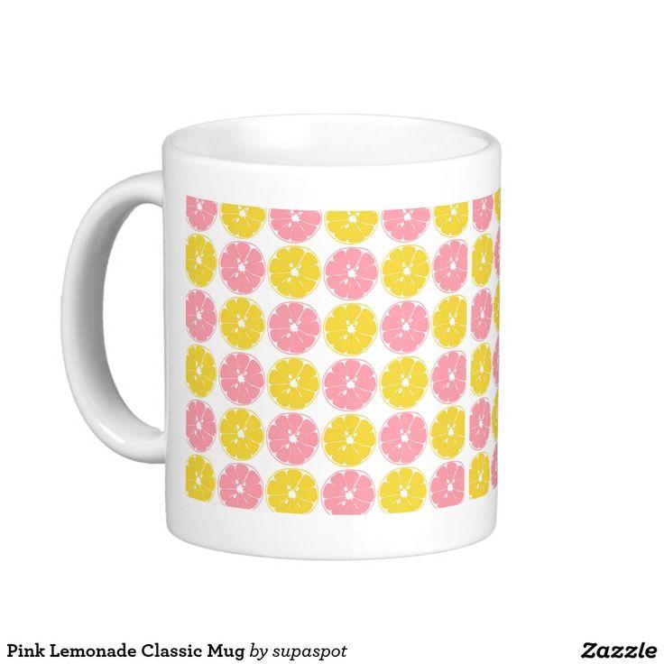Pink #Lemonade Classic #Mug