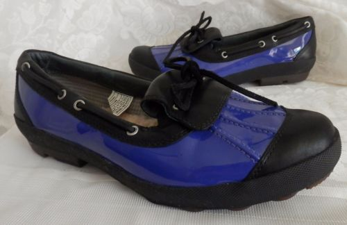 UGG-AUSTRALIA-Ashdale-1000380-Blueberry-Black-Duck-Rain-Muck-Shoes-Women-039-s-11