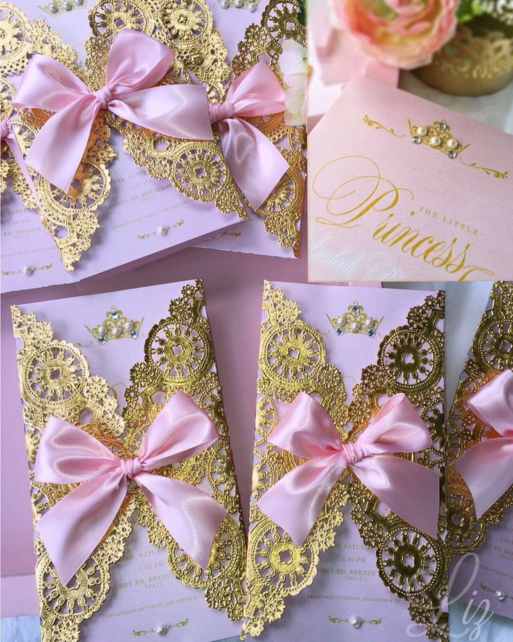 It's a Princess  Analeah's Royal Baby Shower / gold doilies/ invitations #pinkandgold #royalprincess #princessbabyshower #royalprincessbabyshower #goldfoil #crafting #customizedcards #tiara #princesscrown #babygirl #babyshowerInvitations #MadeWithMichaels #invitaciones #princesa #princessinvitations #princessbabyshower #papergoods #papercraft #handmadecards #handmade #papercrafting #paperart #papercreations  #pink #handcrafting #philly #phillyevents