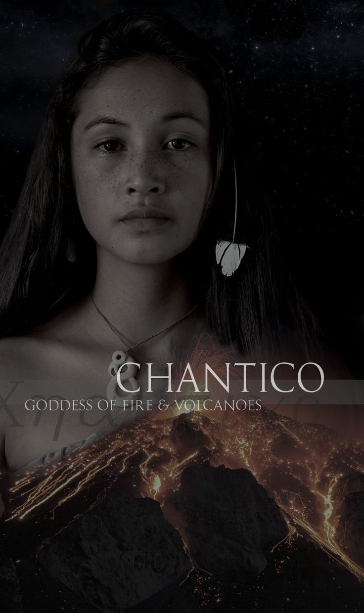 """saintpadfoot: """"  Mythology   Aztec Goddesses   Chantico, referred to as She Who Dwells in the House, was the goddess of fires, volcanoes, and treasured items. Men that left their families to join battles prayed to her in hopes that they would return home to hearty fires."""