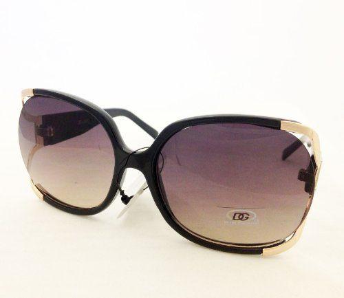 DG Eyewear Celebrity Inspired Vintage Women's Sunglasses Oversized Frame