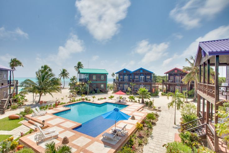 X'tan Ha Beachfront Belize Resort Pool