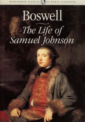 Jame Boswell, biographer of Samuel Johnson