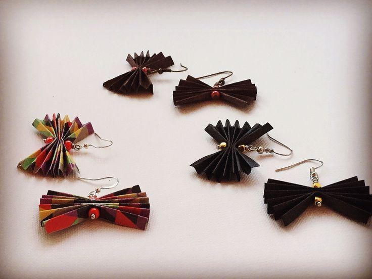 Orecchini origami #zucchesgusciate