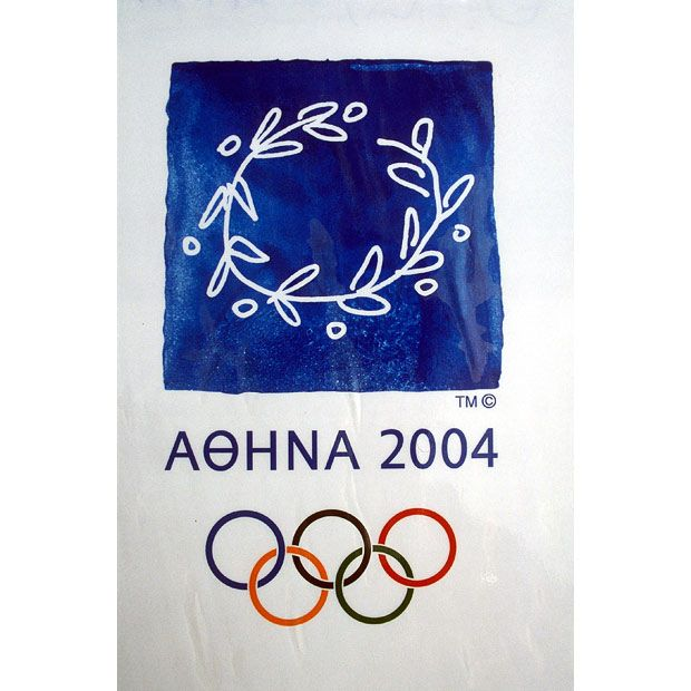 2004: Athens, Greece Olympic Poster