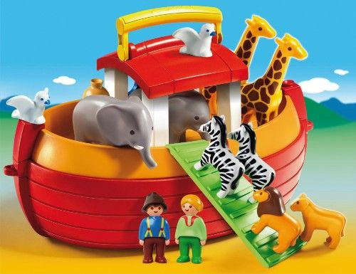 PLAYMOBIL 6765 1-2-3: Meine Mitnehm Arche Noah