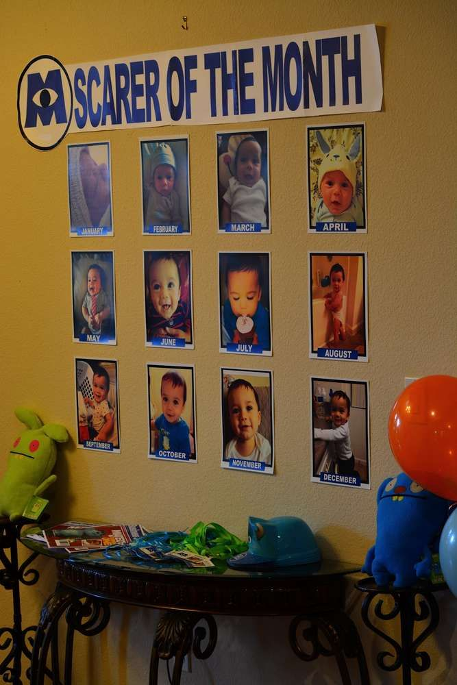 Monster inc Birthday Party Ideas | Photo 5 of 43 | Catch My Party
