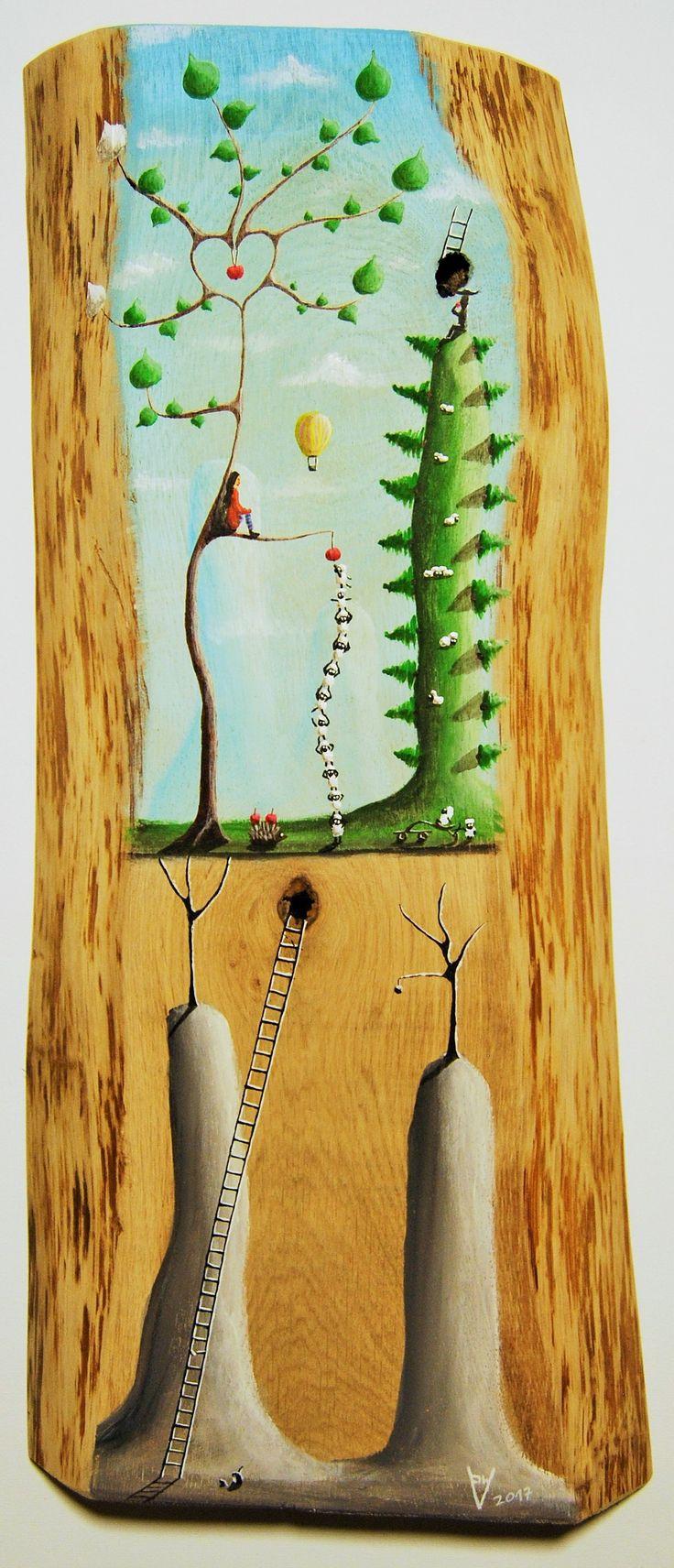 """""""me 15"""" Paweł Widera original paintings, acrylic on wood"""