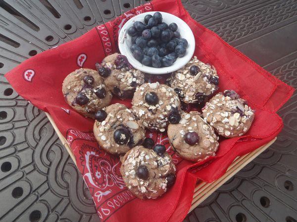 Quinoa Blueberry Muffin