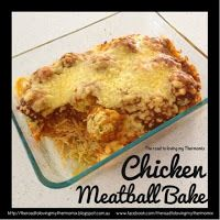 The road to loving my Thermomix: Chicken Meatball Bake