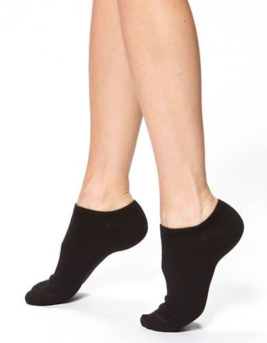 Black ankle socks - I don't like white ones (mostly black, but can have a touch of color like my black ones with neon accent color)