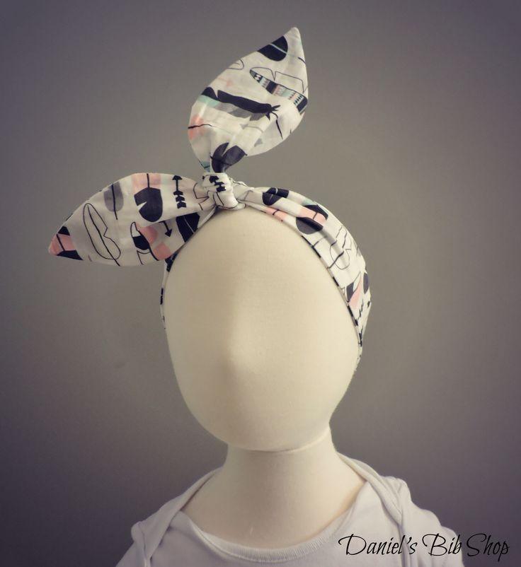 Handmade Feathers Knotted Headband