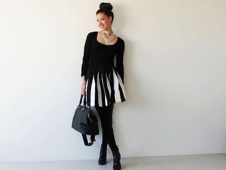#Tutoriel #couture : Coudre une jupe patineuse plissée via DaWanda.com