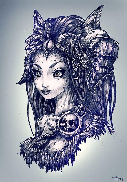 Принцессы Дисней (продолжение подборки тату)