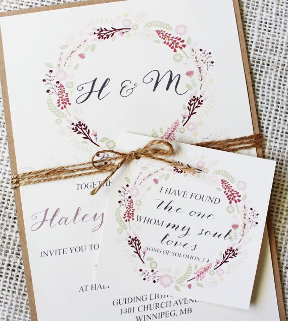 Best 25+ Floral wedding invitations ideas on Pinterest