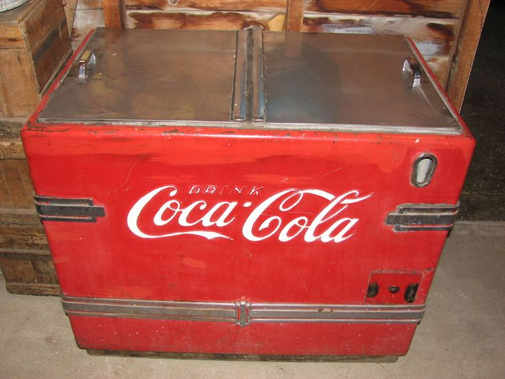Coca Cola Ice Metal Chest