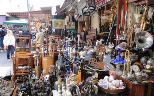 Must-see places: Waterlooplein, the oldest flea market and one of the best of Amsterdam's markets.