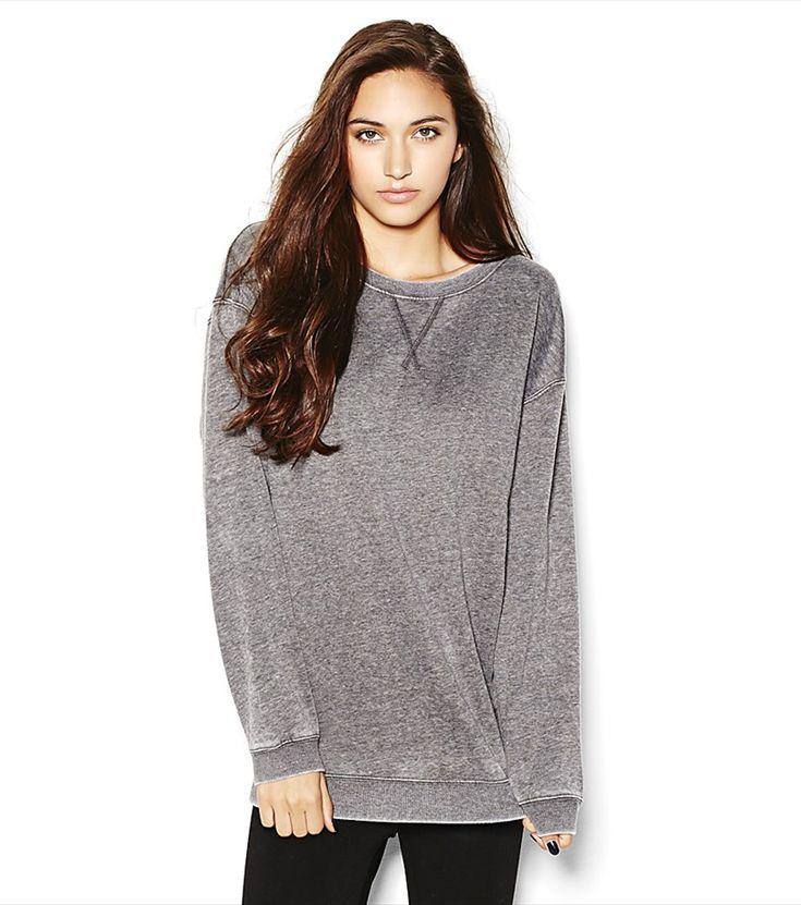 Oversized Boyfriend Sweatshirt.