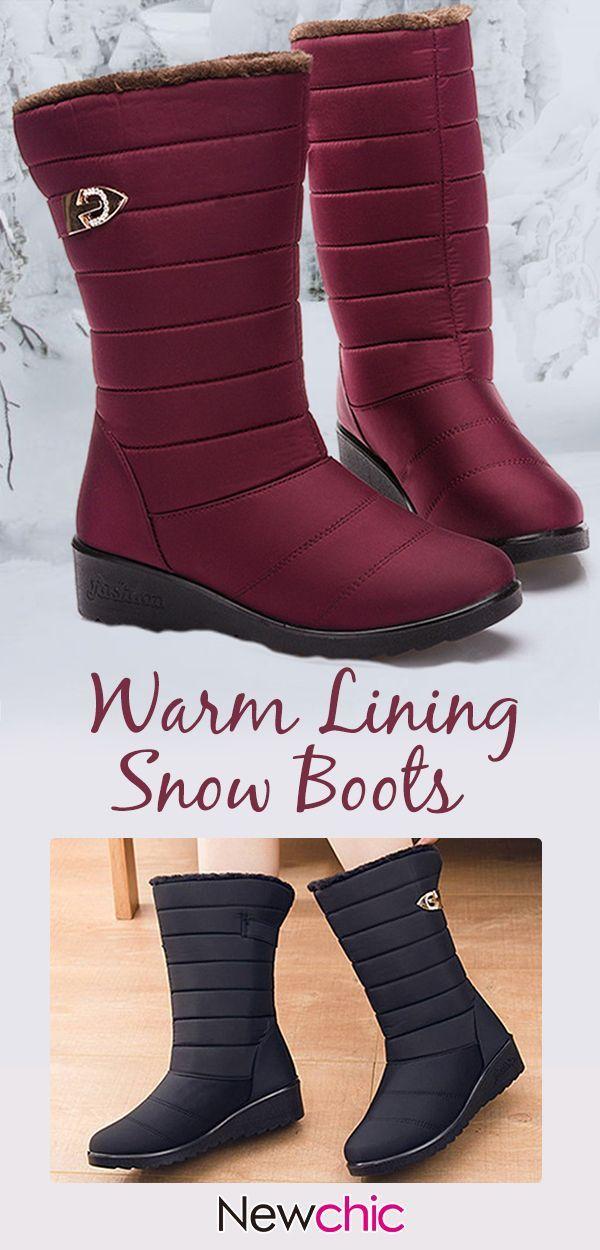 6dd86659ff28  51% off Women Casual Non Slip Warm Lining Black Waterproof Snow Boots . winter3winterboots snowboots