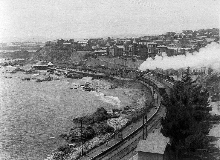 Balneario de Recreo de la ciudad de Valparaíso en el año 1920