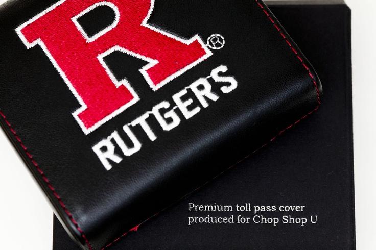 Rutgers EZ-Pass Cover   Ez pass. Clothing company. Cover