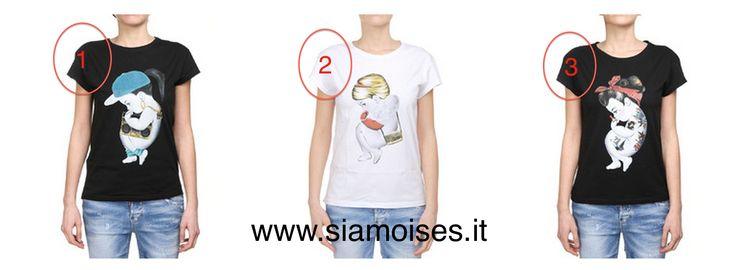 #tshirt  #siamoises mod.  1-#Hiphop 2-#Dandy 3-#ROCKABILLY
