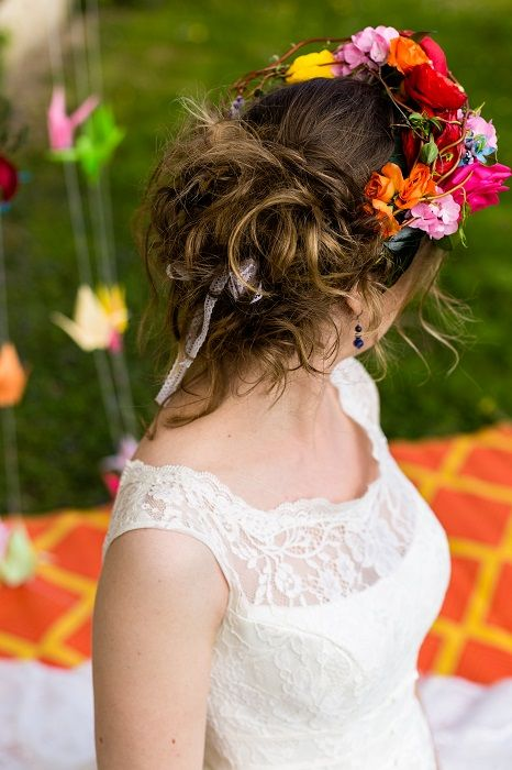 Shooting d'Inspiration : Mariage Vintage Multicolore