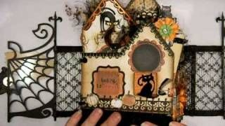 Halloween Mini Album - The Witches Inn, via YouTube.