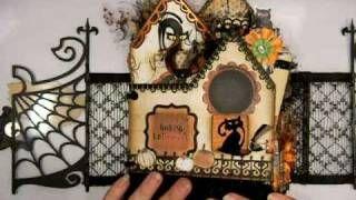 Halloween Mini Album - The Witches Inn, via YouTube.