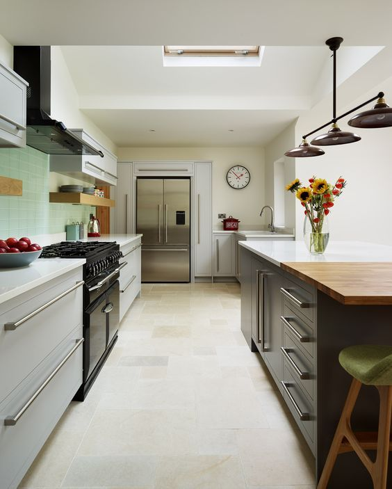 Narrow Galley Kitchen Ideas: 43 Best Harvey Jones Storage Options Images On Pinterest