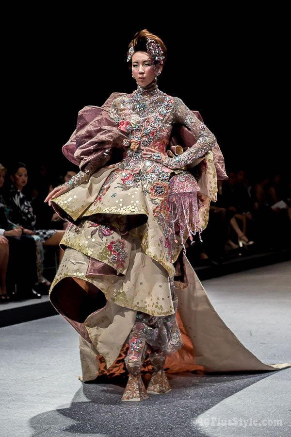 Witness a fashion show. Preferably haute-couture :)