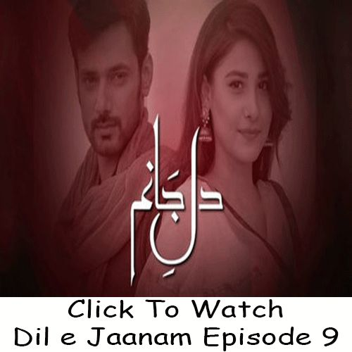Watch Hum TV Drama Dil e Jaanam Episode 9 in HD Quality. Watch all latest Episodes of Drama Dil e Jaanam and all other Hum TV Dramas.