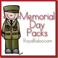 Memorial Day Pack  ---- might use when doing community helpers since our armed forces are definitely helpers