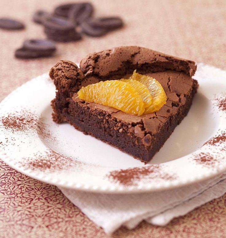 Photo de la recette : Gâteau au chocolat fondant sans gluten (très facile)