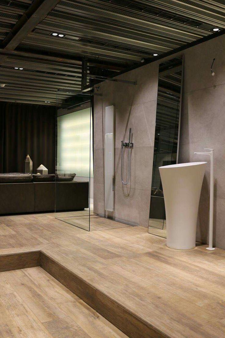 Ad hoc sistema integrato piatto cabina doccia presso nostro rivenditore d'eccellenza 5 Stelle Home Interiors di Lugano.  Www.raresistemidoccia.Com