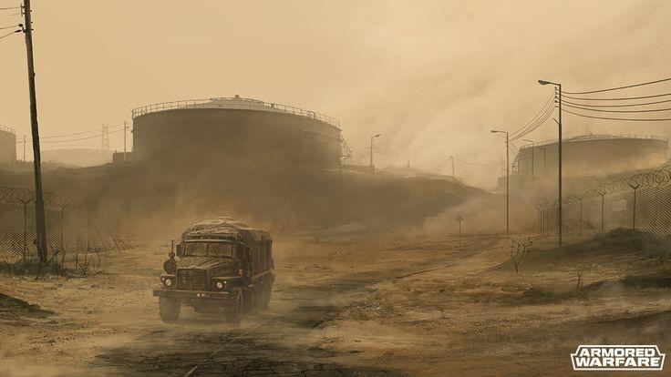 Concept-art | Armored Warfare - Official Website
