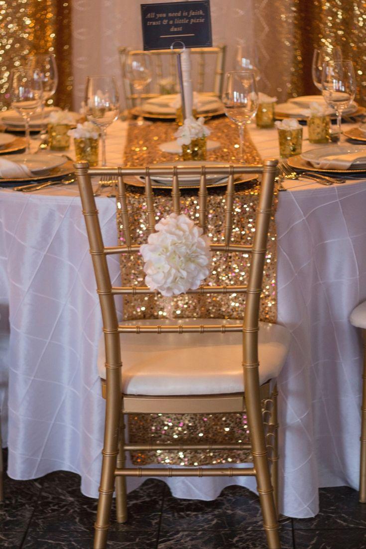 Glittering Gold Wedding Design