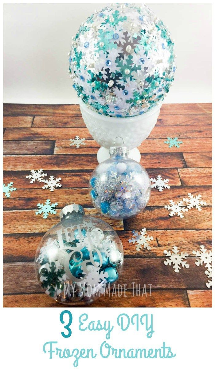 17 Best Ideas About Frozen Ornaments On Pinterest