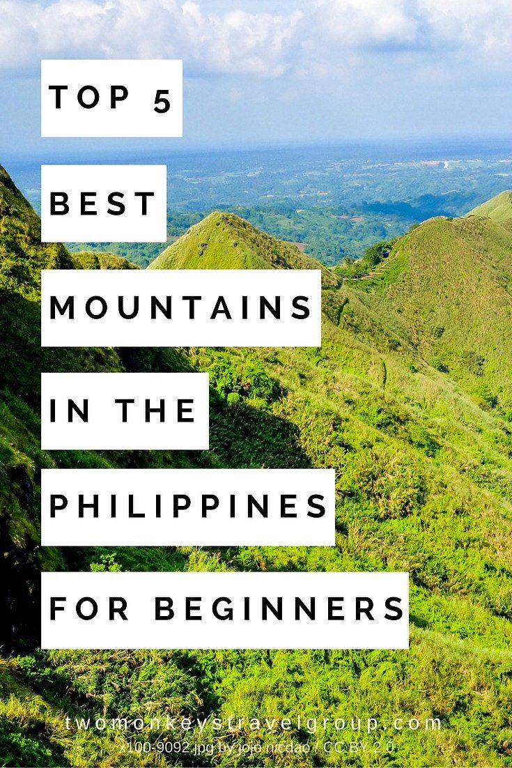 Top 5 Best Mountains in the Philippines for Beginners
