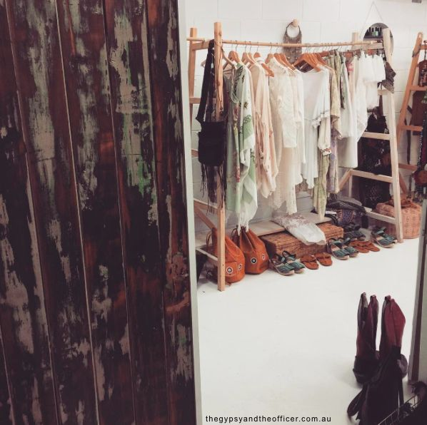 A peek inside The Gypsy and Officer store!