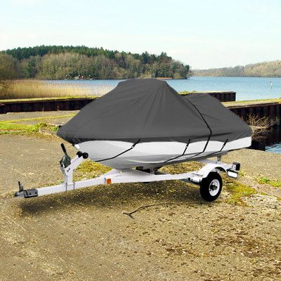 """Trailerable Personal Watercraft Cover Gray 116""""-126"""" Jet Ski Wave"""
