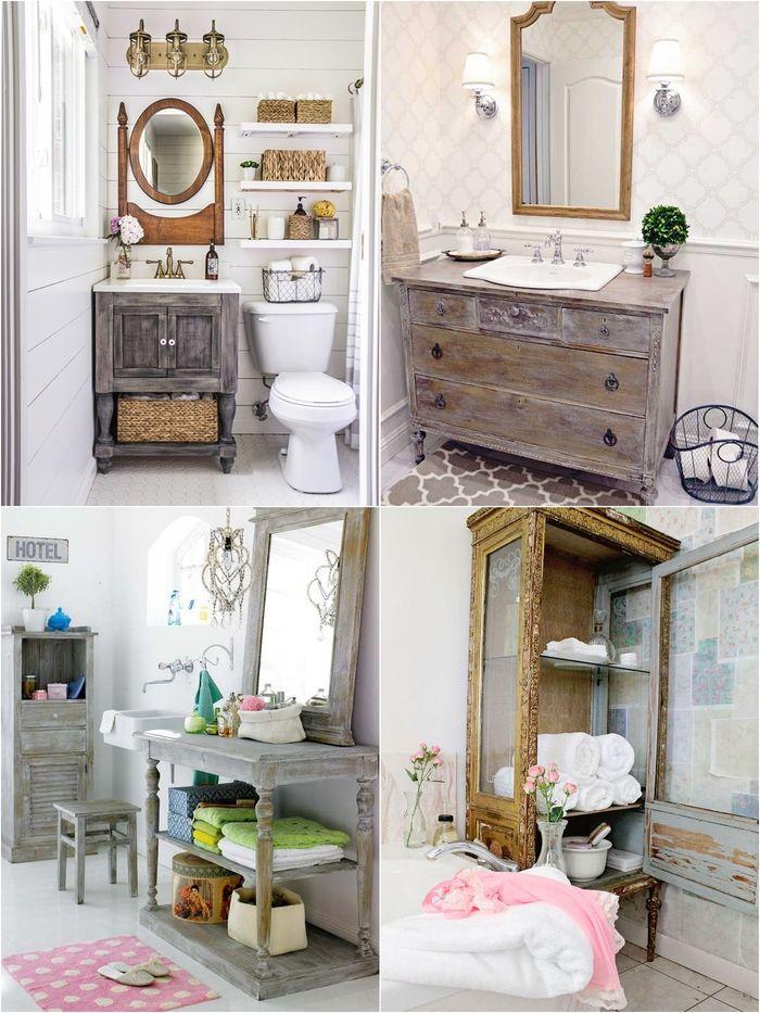 Les 1491 meilleures images du tableau meubles sur pinterest - Salle de bain recup ...
