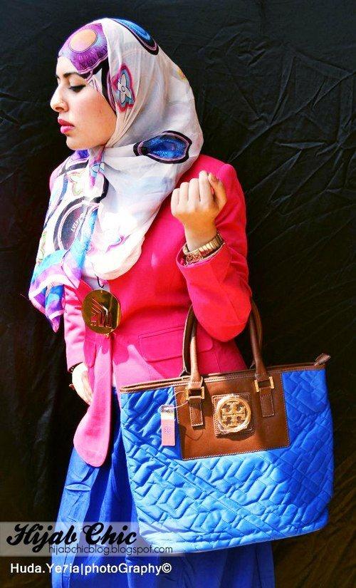 Hijabi fashion :D