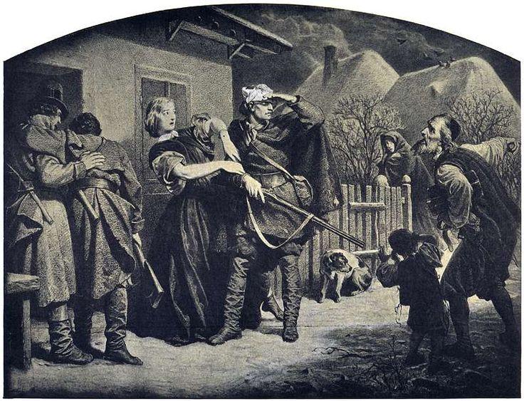 Artur Grottger - Polonia, V. Schronisko, 1863